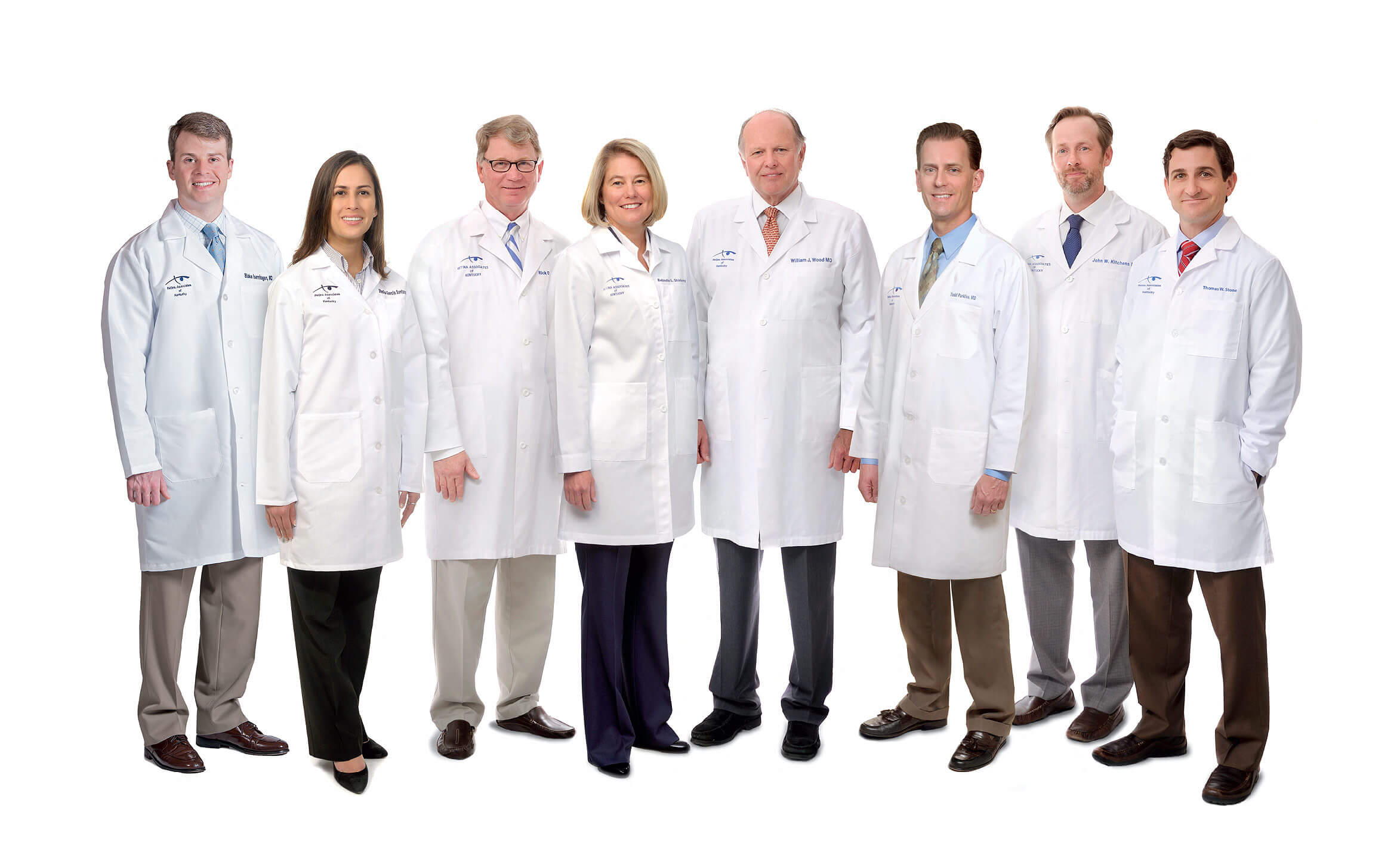Group Shot Of Doctors
