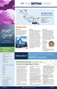 Spring 2021 Newsletter, Second Page Preview